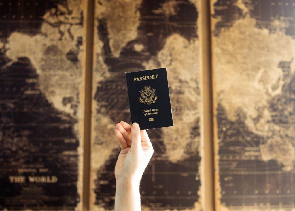 pasaporte mapa