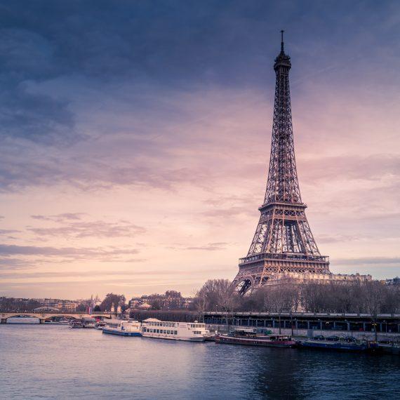 Paris atardecer