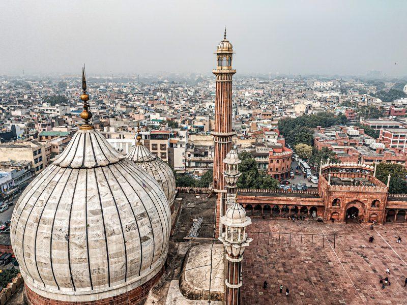 Panoramica Delhi