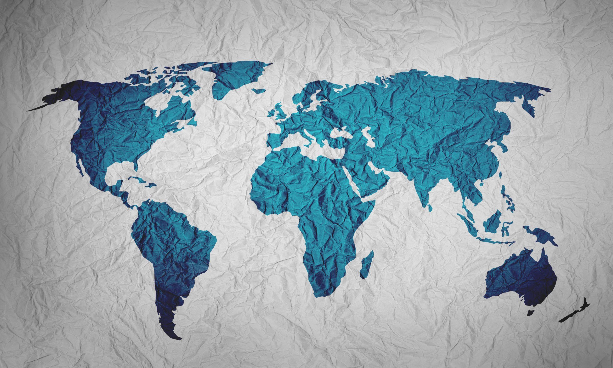 Mapa Azul